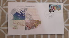 2006 CANADA- Atlas of Canada 1906-2006- FDC STAMP