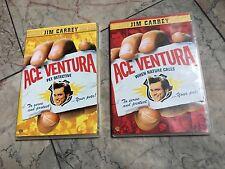 ACE VENTURA PET DETECTIVE & WHEN NATURE CALLS, DVD, 2-DISC SET, SKINNY CASES