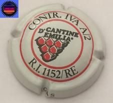 Capsule de Mousseux Italien Cantine D'Emilia Contr.iva A/2 R.I 1152/RE RARISSIME
