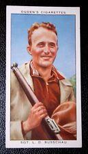 King's Prize Bisley  Shooting Champion       Original 1930's Vintage Card