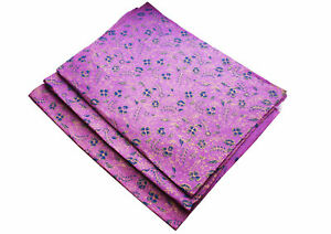 Flower Printed Purple Lokta Gift wrapping Paper