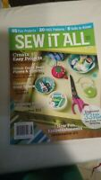 SEW IT ALL: SEWING MADE SIMPLE MAGAZINE VOLUME 6  very good Condition