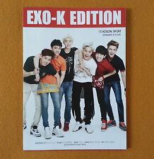 EXO Kolon Sport Promo Folding Posters Limited KPOP Star EXO Very Rare