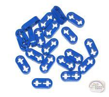 LEGO Technic - 20 x Thin Studless Beams - 2L - Liftarms - New - Blue - (EV3)