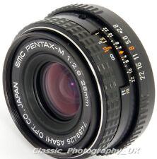 SMC Pentax-M 1:2.8 28mm F2.8 WIDE-Angle Lens PENTAX-K Film & DIGITAL SLR fit