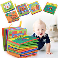 Kid Intelligence development Cloth Cognize Book Educational Toy For Baby Toddler