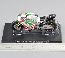 IXO 1/18 Scale Diecast Motorcycle #46 Rossi Moto Honda VTR 1000-8h Suzuka 2000