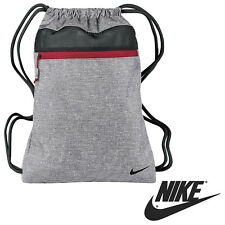 Nuevo Nike Swoosh Bolsa De Deporte * GRIS * Sports Mens Damas Saco De Hombro con Cordón Golf