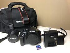 Canon EOS Rebel T3 12.2MP Digital SLR Camera Kit w/ EFS 18-55mm Lens + 16gb SD