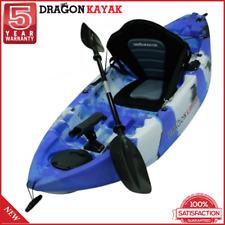 New Dragon Kayak Baby Dragon Pro Fisher Kids Fishing Kayaks - Blue Camo