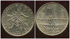 10 francs  mathieu  1979  TRANCHE  B   SPL  ( bis )