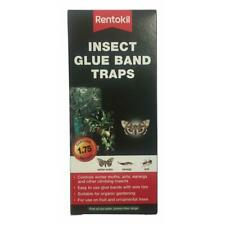 Rentokil Climbing Insect Glue Band Traps 1.75m for Moths, Ants, Earwigs on Trees