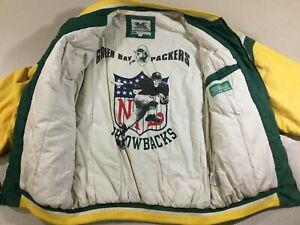 Vintage Green Bay Packers Football NFL Mirage Jacket SizeL