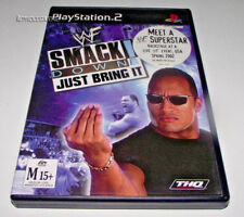 WWF Smack Down Just Bring It PS2 PAL *Complete*