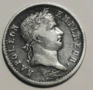 RARE: 1/4 Quart de franc Napoléon 1er tête laurée. Empire Francais 1809 A Paris