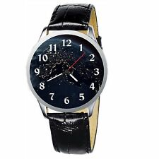 Satellite View Of Earth Stainless Wristwatch Wrist Watch