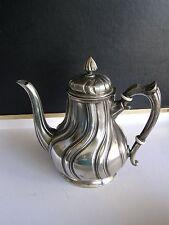 ancienne verseuse SHEFFIELD cafetière théière   en métal argente