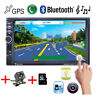 "Touch TF/AUX/FM/USB Remote MP5 Player Bluetooth GPS 7"" HD 2DIN Car Radio Stereo"
