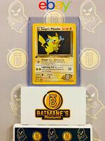 Lt. Surge's Pikachu 81/132 1st Edition NM Gym Heroes Non-Holo Pokemon Card