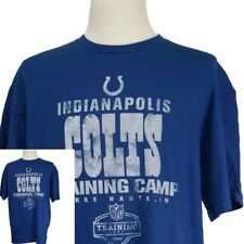 Indianapolis Colts~New~Men's XL~Football~NFL~Terre Haute Training Camp T-Shirt