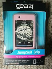 GEAR4 Jumpsuit Grip Pink & Grey Silicone Case Skin Cover for iPod Touch 8/16/32g
