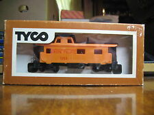 """Tyco 327H:350 Ho Scale 8 Wheel Offset Cupola Caboose """"Union Pacific 1654"""""""
