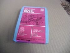 Sandy Nelson Wild Drums [Rockabilly] 8 Track Tape Sunset Records VG+