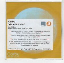 (FE240) Corbu, We Are Sound - 2014 DJ CD