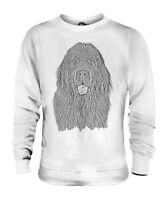 NEWFOUNDLAND SKETCH UNISEX PRINTED SWEATER TOP GREAT GIFT FOR DOG LOVER NEWFIE