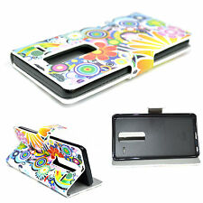 Flip Stand Phone Leather Wallet Protective Pouch Case Cover For LG Class Zero