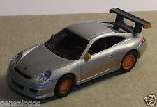 MICRO METAL DIE CAST SCHUCO HO 1/87 PORSCHE GT3 RS GRIS CLAIR