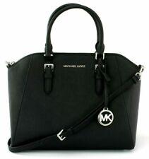 Michael Kors 35H5SC6S3L Ciara Large Satchel Handbag - Black