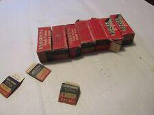 NOS Auburn spark plug lot of 7 TC-3 182 T COM 107 TG 187 TF 105 TG 185T 186 T