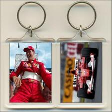 F1 Champions. 2002 Michael Schumacher. Keyring / Bag Tag.