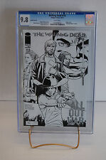 CGC 9.8 Walking Dead #115 N ~ Midnight Release Sketch Variant ~ < 600 copies!