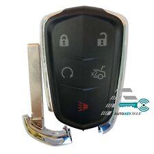 New Key Fob Shell Pad Case for Cadillac ATS CT6 CTS SRX XT5 XTS Entry Remote