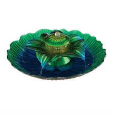 """Regal Art & Gift 3-Tier Fountain, Blue/Green, 20"""""""