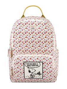 Cath Kidston x  Peanuts Snoopy Tiny Rose Pocket Backpack  Warm Cream Colour