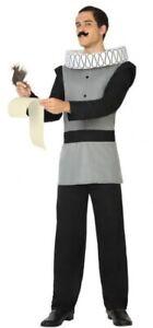 Mens Shakespeare World Book Day Week Teacher Fancy Dress Costume Outfit M-XL