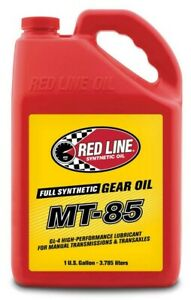 Red Line Fully Synthetic MT-85 75W85 GL-4 Transmission Gear Oil (1-Gallon Jug)