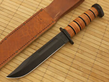 KA1317 Couteau Kabar Dog's Head Utility Knife 1095 Carbon Blade Made In USA