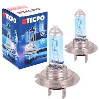 2x TECPO 12V H7 Halogen-Lampe XENON SUPERWEIß Scheinwerferlampe Autolampe PX26d
