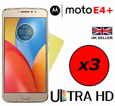 3x HQ ULTRA CLEAR HD SCREEN PROTECTOR COVER GUARDS FOR MOTOROLA MOTO E4 PLUS E4+