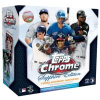 2020 Topps Chrome Sapphire Edition Baseball Live Random Team 1 Box Break #1