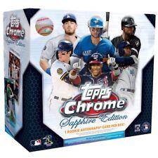 2020 Topps Chrome Sapphire Edition Baseball Live Random Player 1 Box Break #2