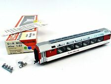 D + R Modellbahn 24013 Panoramawagen Furka-Oberalp Glacier Express DC 1:87 HOm