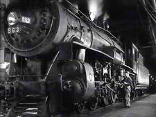 Photo 1955 train à vapeur Winston Link Moteur New Art Imprimé Poster Photo CC3796