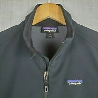 PATAGONIA Sidesend Size Small Womens Black Softshell Stretchy Jacket Coat $149