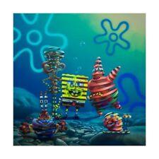 """Super A """"Atlantis Squarepantis"""" Print Spongebob Nickelodeon LE 150 IN HAND S/O"""