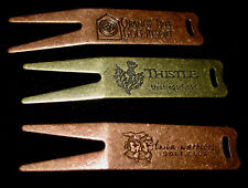 """""""DIVOT FIXERS W/GOLF LOGO"""" 3 DIFFERENT LOGOS-MADE IN USA-NEW NEVER USED!"""